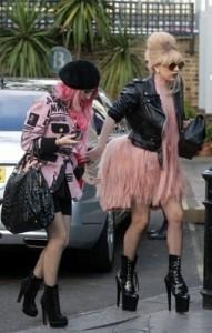 Bottines de Lady Gaga Adore-1020