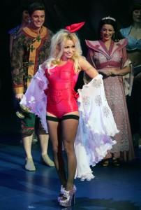 Pamela Anderson en escarpins Pleaser
