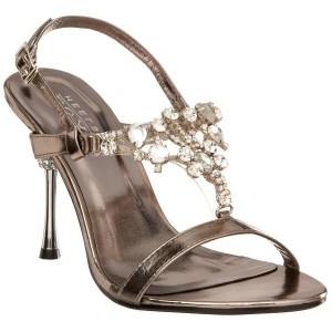 Sandales habillées à haut talon
