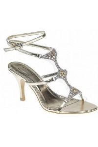 Sandales à brides petit talon