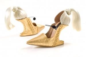 chaussure blonde 1