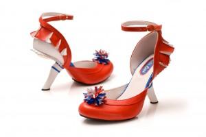 chaussure pompom girl 1