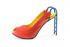 chaussure tobogan