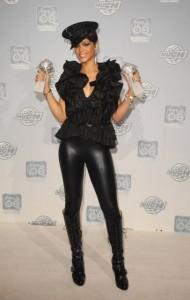 Rihanna en chaussures Pleaser