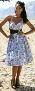 Robe légère Pinup la mode Rétro