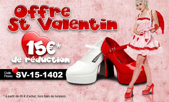 Saint Valentin La Boutique du Haut Talon