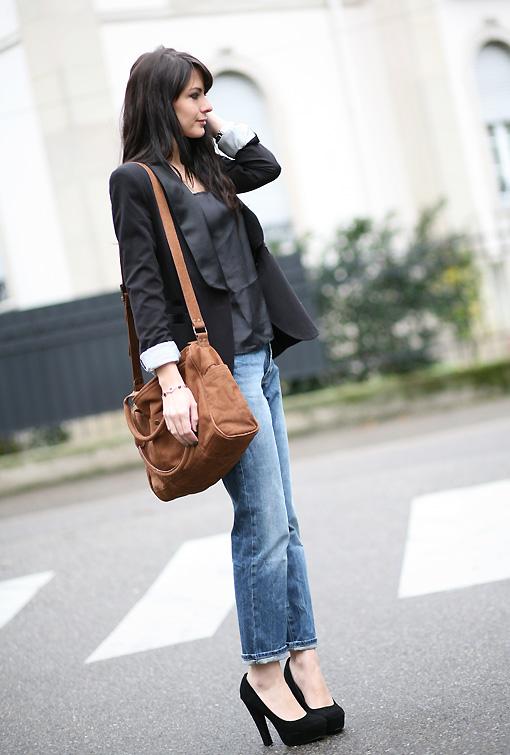 Escarpins Avec Jeans