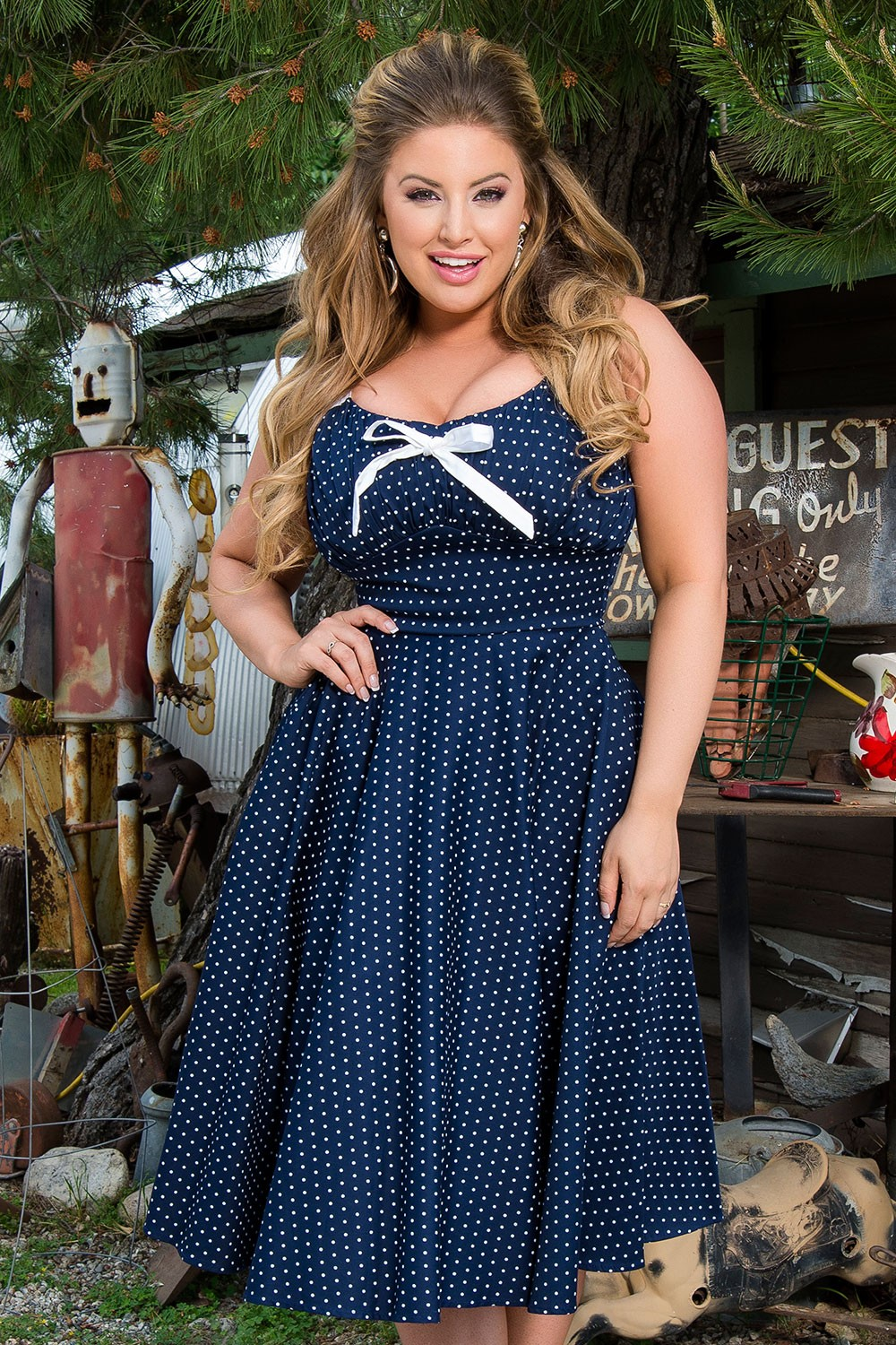 Robe Pinup Grande Taille Les Hauts Talons